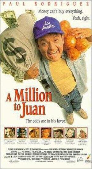 A Million to Juan - VHS artwork