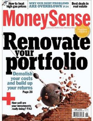 MoneySense - Image: Money Sense (magazine) cover