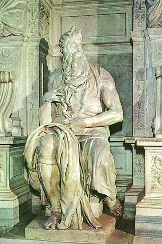 Moses und Aron - Michelangelo Moses