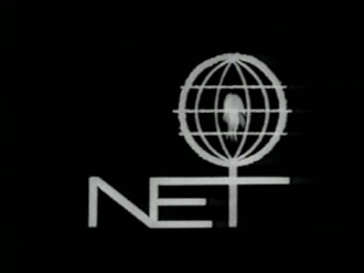 """Fourth television network - The National Educational Television """"flame"""" logo, used from 1966 to 1968."""