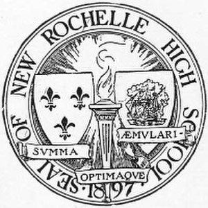 New Rochelle High School - Image: New Rochelle HS Seal