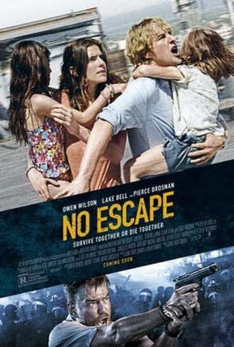 No Escape (2015 film) - Theatrical release poster