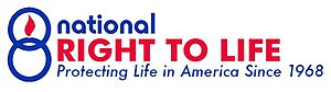 Logo for the National Right to Life Committee,...