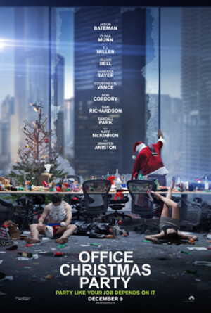 Office Christmas Party - Theatrical release poster