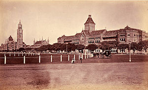 Oval Maidan - Oval Maidan in 1875