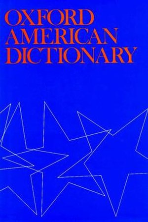 Oxford American Dictionary - Image: Oxford American Dictionary