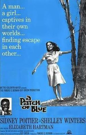 A Patch of Blue - Promotional movie poster for the film