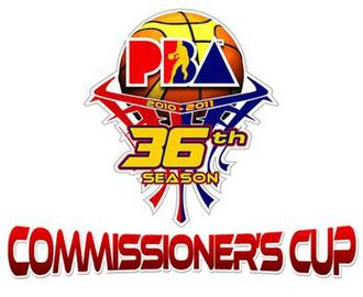 2011 PBA Commissioner's Cup - Image: Pba commcup 11
