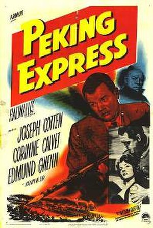 Peking Express (film) - Theatrical release poster