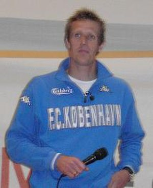 Peter Møller - Peter Møller at Sportscamp in Farum in 2004