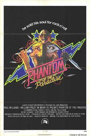Phantom of the Paradise - Theatrical release poster by John Alvin.