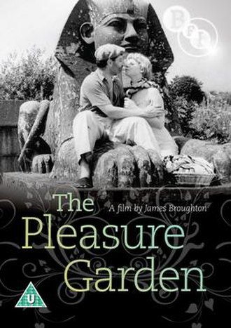 The Pleasure Garden (1953 film) - DVD cover for The Pleasure Garden