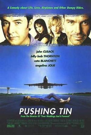 Pushing Tin - Theatrical release poster