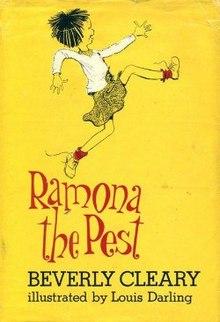 ramona the pest wikipedia rh en wikipedia org Ramona and Beezus Book Ramona The Brave Printables