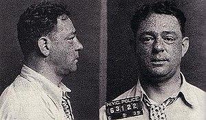 Samuel Levine (mobster) - NYPD mugshot of Samuel Levine