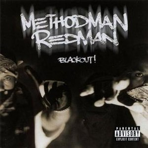 Blackout! (Method Man & Redman album) - Image: Redmethod blackout cover