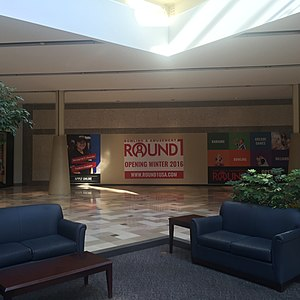 Round One Entertainment - Outlet in the Exton Square Mall which opened in December 2016