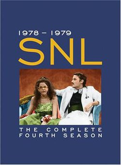 The title card for the fourth season of Saturday Night Live.