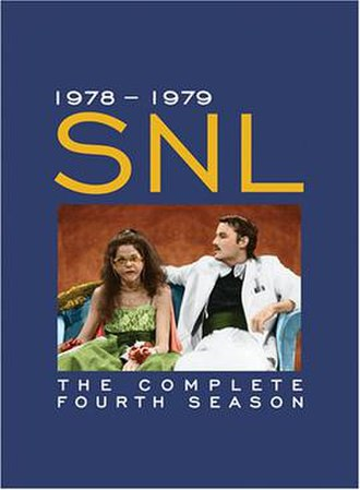 Saturday Night Live (season 4) - Image: Saturday Night Live season 4 DVD cover art