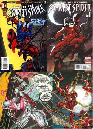 Scarlet Spider - Image: Scarlet Spider combined