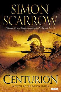 <i>Centurion</i> (novel) novel by Simon Scarrow