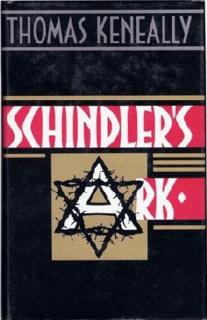 <i>Schindlers Ark</i> Booker Prize-winning novel published in 1982 by Australian novelist Thomas Keneally
