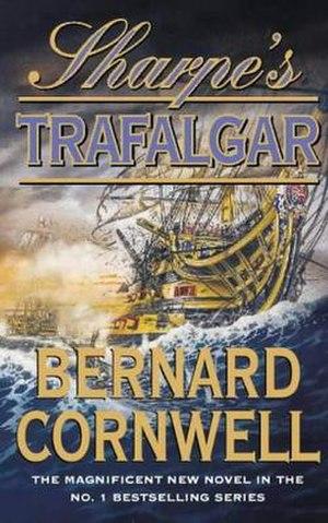 Sharpe's Trafalgar - First edition cover