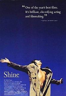 <i>Shine</i> (film) 1996 Australian film directed by Scott Hicks