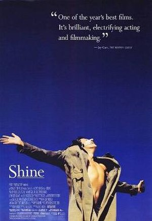 Shine (film) - The original film poster