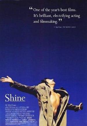 Shine (film) - The original film poster