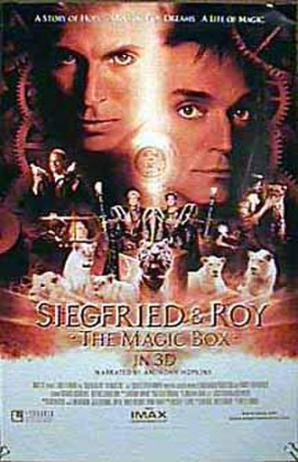 Siegfried & Roy: The Magic Box - Theatrical release poster