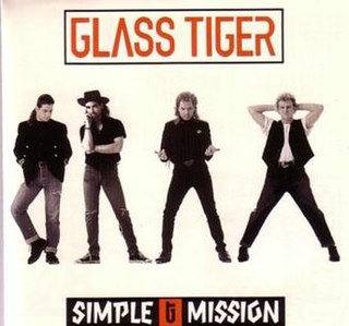 <i>Simple Mission</i> 1991 studio album by Glass Tiger
