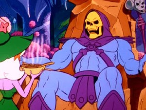 Skeletor - Skeletor, as depicted in the Filmation series.