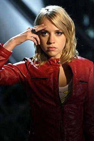 Saturn Girl - Alexz Johnson as Imra Ardeen on Smallville