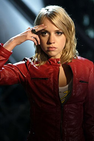 Saturn Girl - Alexz Johnson as Imra Ardeen on Smallville
