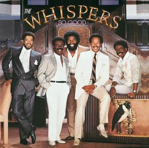 So Good (The Whispers album) - Image: So Good (Whispers Album Cover)