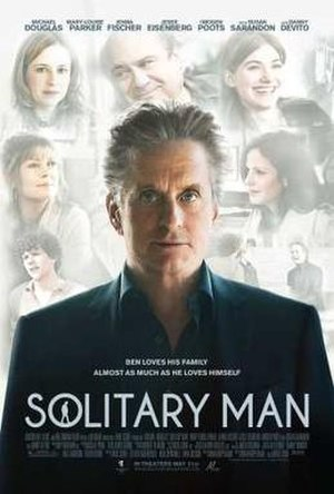 Solitary Man (film) - Theatrical release poster