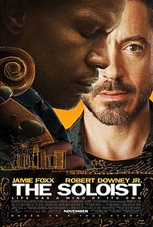 <i>The Soloist</i> 2009 film by Joe Wright