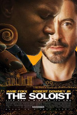 The Soloist - Theatrical release poster