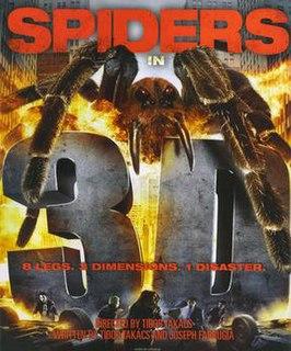 <i>Spiders 3D</i> 2013 film by Tibor Takács