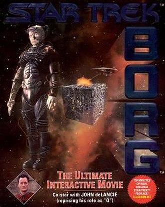 Star Trek: Borg - Image: Star Trek Borg cover