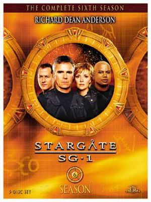 Stargate SG-1 (season 6) - DVD cover