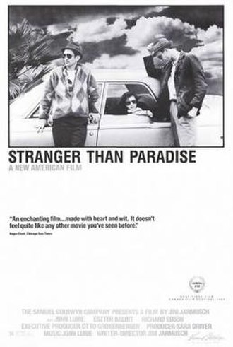 Stranger Than Paradise - 1984 movie poster