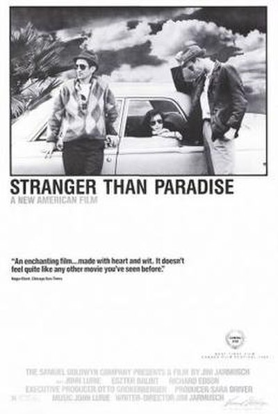Picture of a movie: Stranger Than Paradise