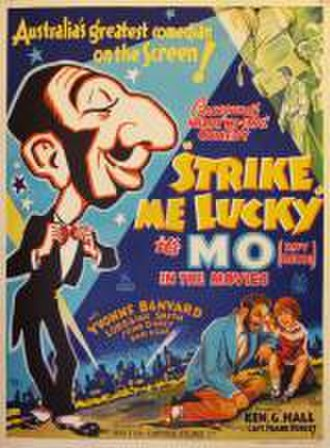 Strike Me Lucky - Theatrical poster