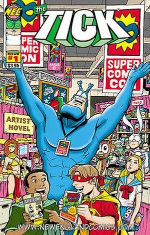 Tick (comics) - Image: TICK COMIC CON EXTRAVAGANZA 1