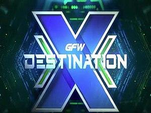 Destination X - The Destination X logo as of 2017.