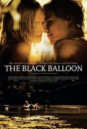 The Black Balloon (film) - Theatrical release poster