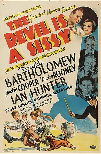 The Devil Is a Sissy - Poster