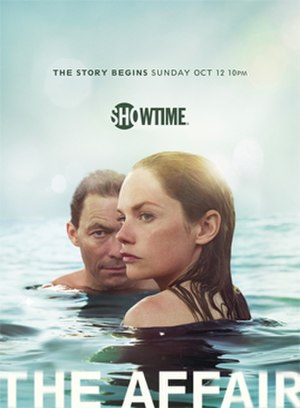 The Affair (TV series) - Television release poster